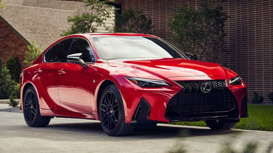 2021 Lexus IS 350 F Sport Exterior