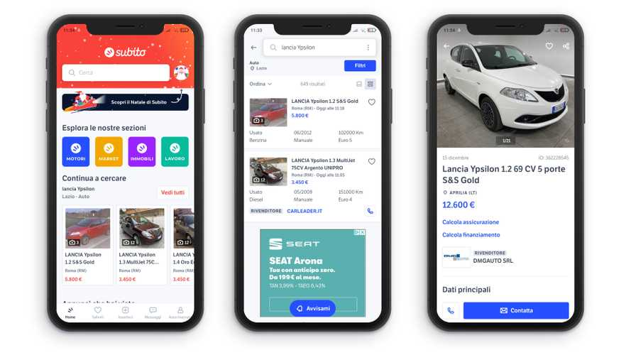 Le migliori app per vendere e comprare auto