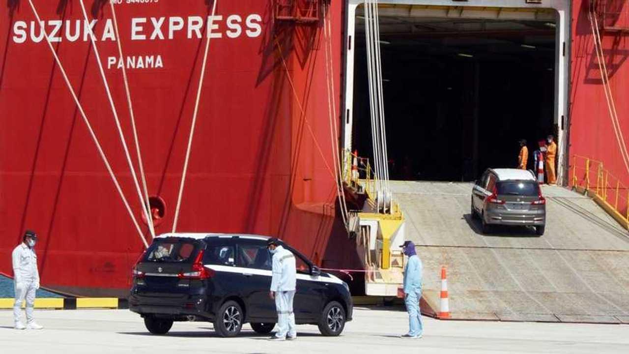 Suzuki Ertiga ekspor