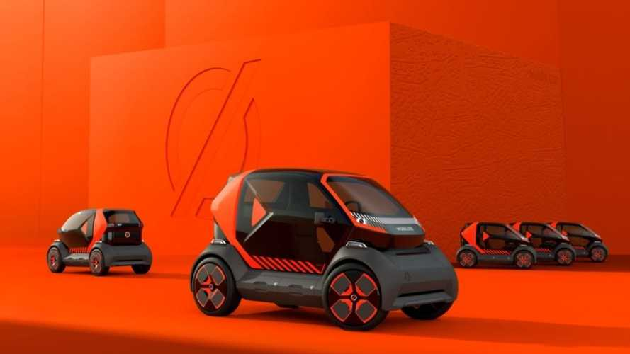 Renault reveals 2-seat 'Twizy-like' urban mobility car & Mobilize brand