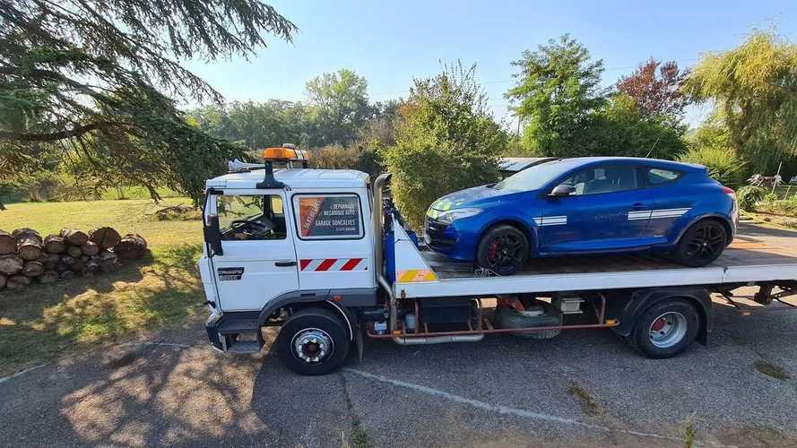 Subaru Impreza y Renault Mégane R.S. de los gendarmes franceses