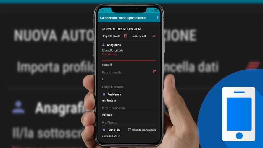 Autocertificazione per il coprifuoco, si può fare anche con una app