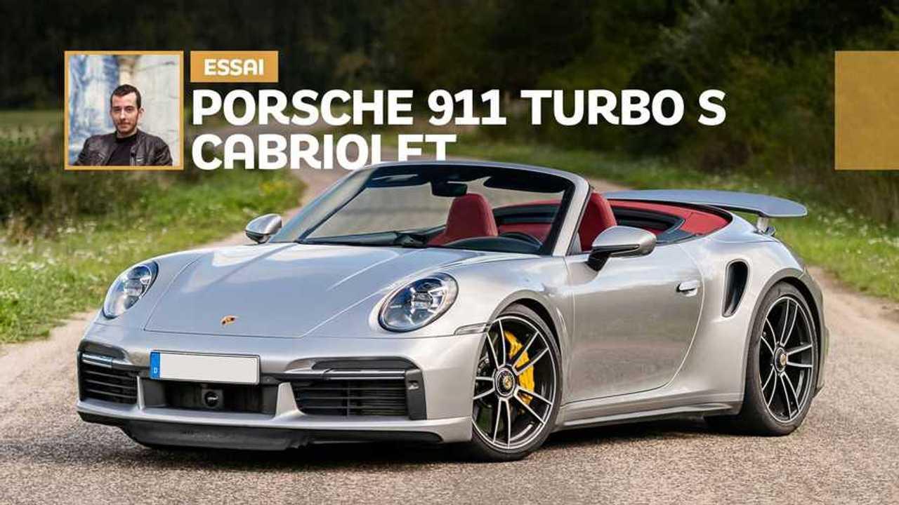 Essai Porsche 911 Turbo S Cabriolet (2020)