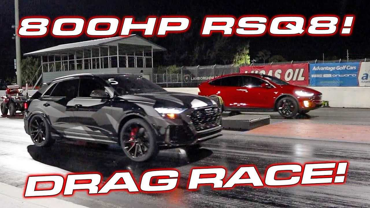 Watch Tesla Model X Race Modded Audi RSQ8 After Audi Destroys Lambo Urus