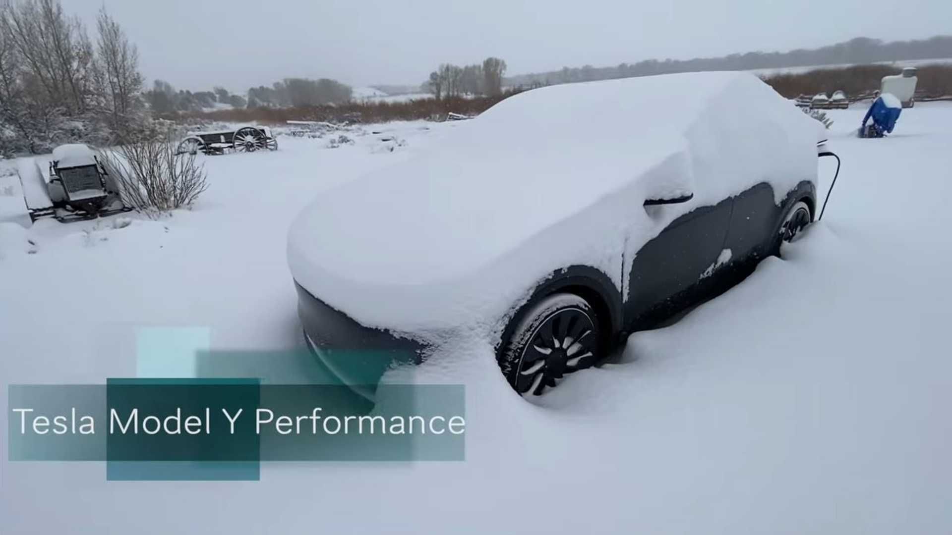 Tesla Model Y Performance: How Does It Fare In 11 Inches Of Snow?