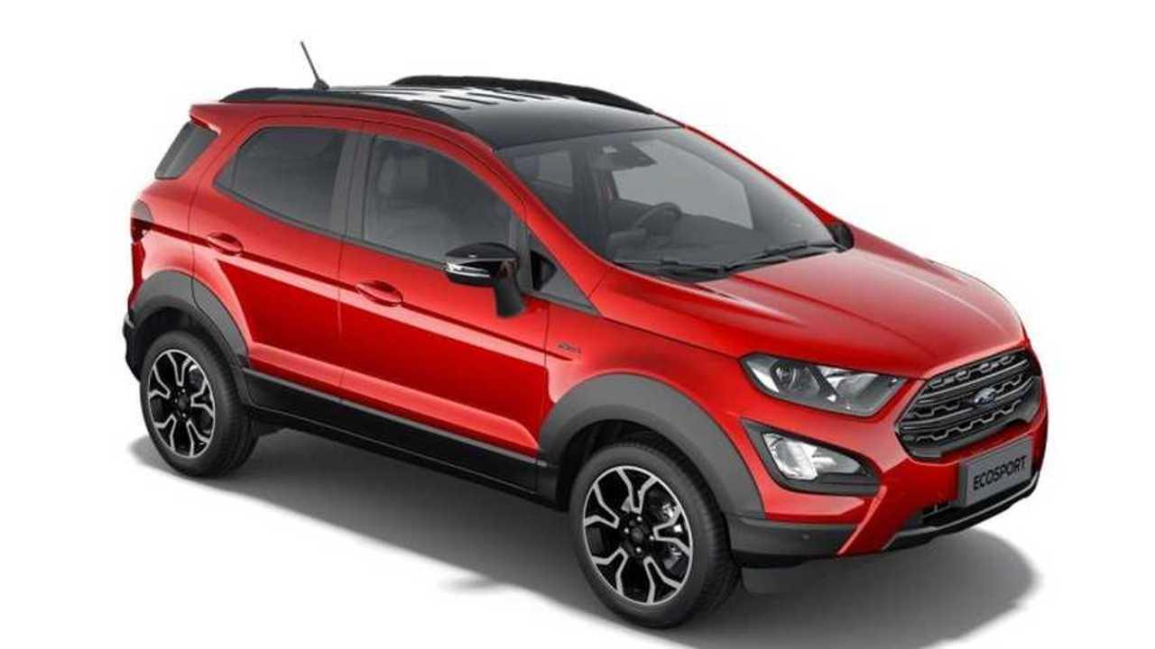 Ford EcoSport Active Sızıntı Görüntüler
