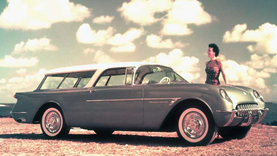 Посмотрите на Chevrolet Nomad: трехдверный универсал на базе Corvette