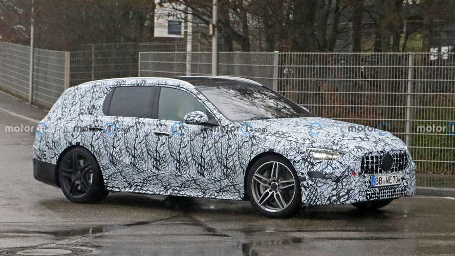 Новый универсал Mercedes-Benz C-класса поймали на тестах (18 фото)