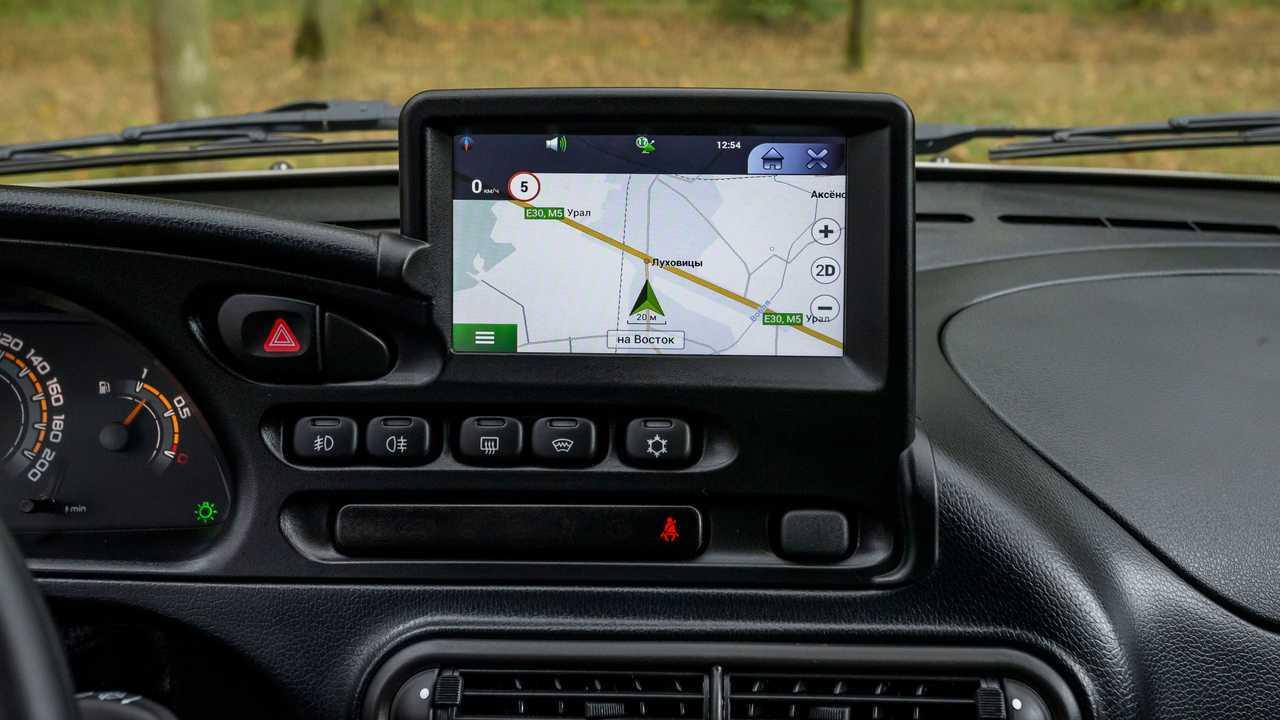 Lada Niva Off-road (2020) – навигатор