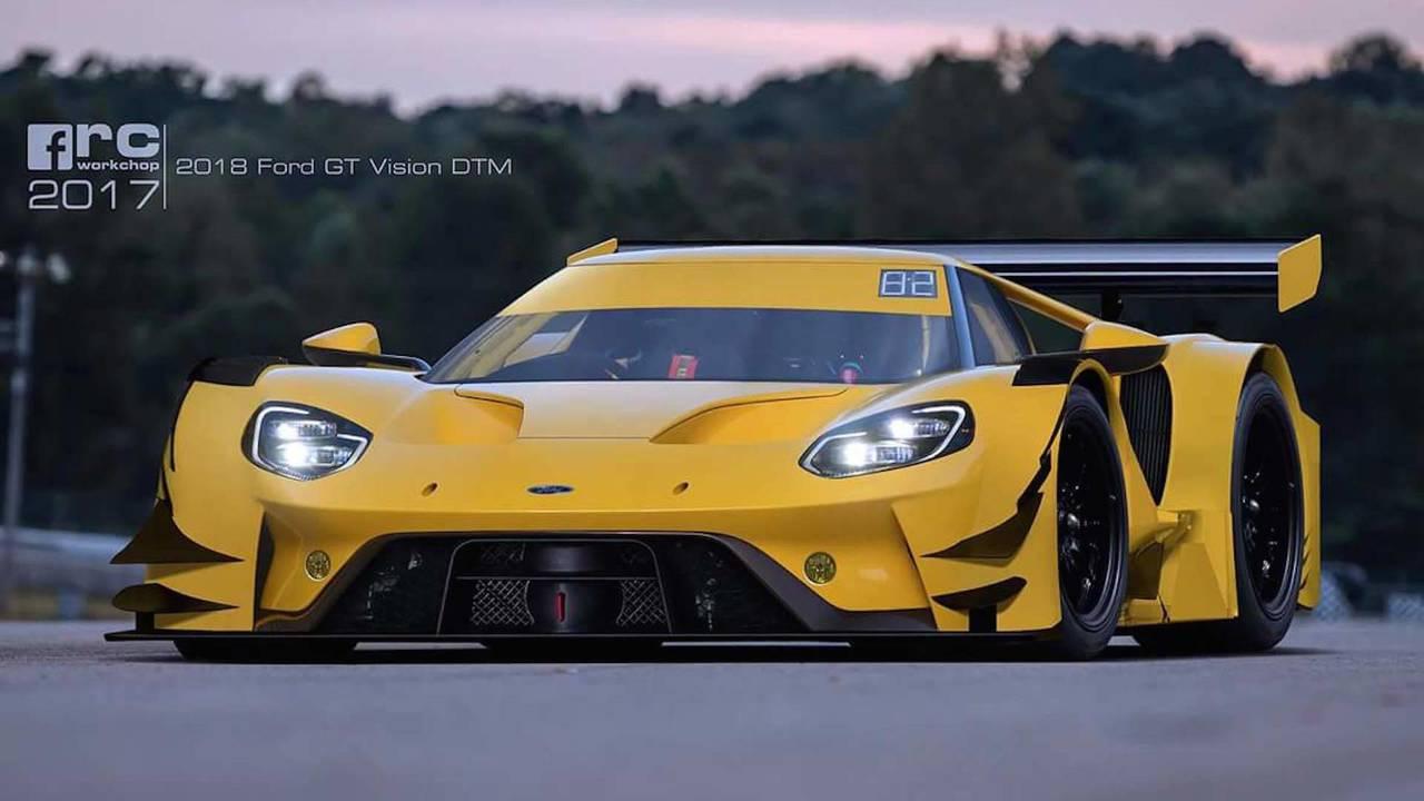 Ford GT DTM render