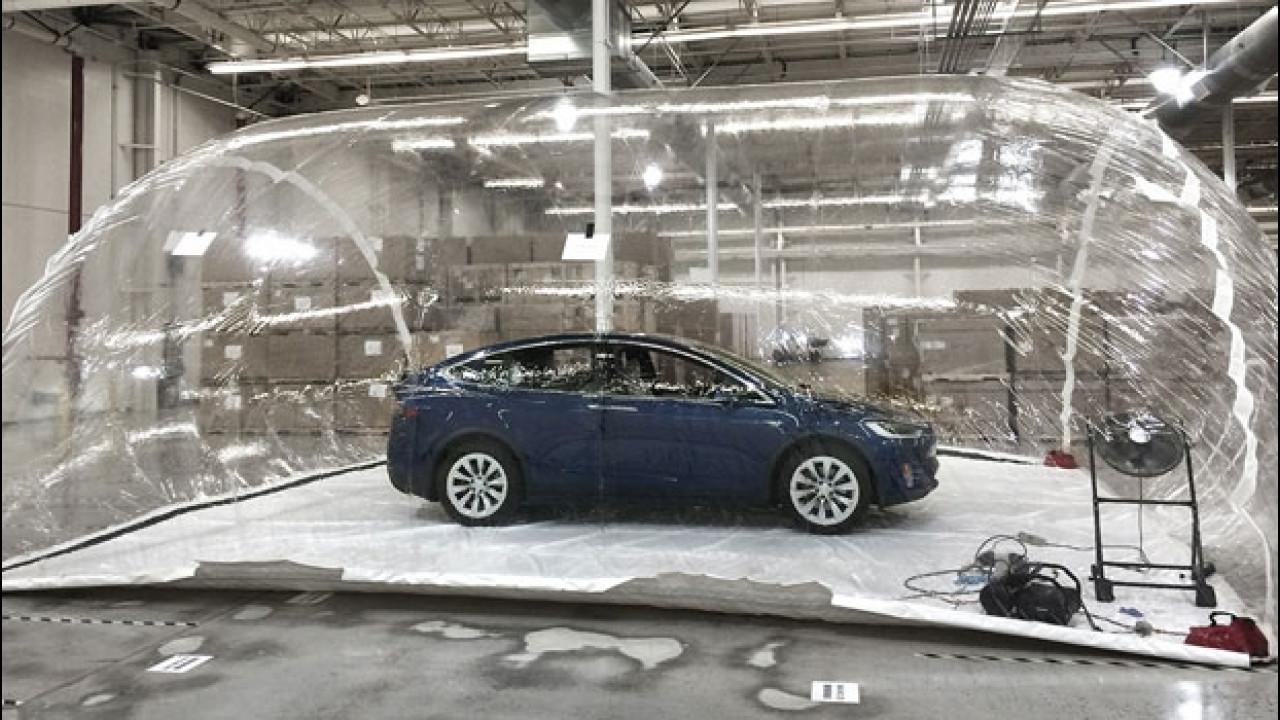[Copertina] - Tesla, la prova del super-filtro dell'aria contro le armi biologiche