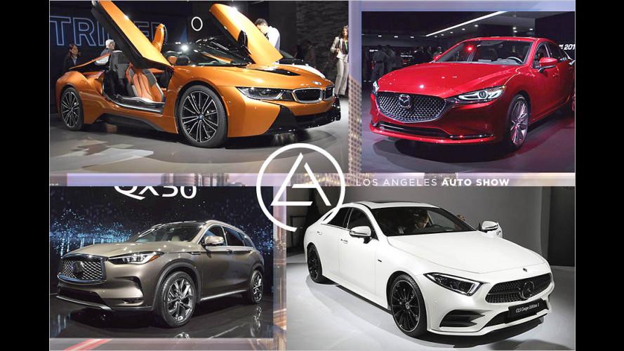 Die Highlights der Los Angeles Auto Show 2017