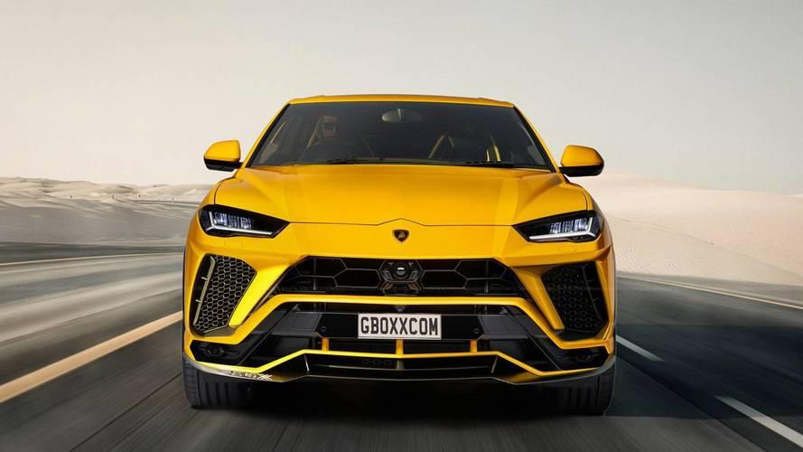 Lamborghini Urus renders