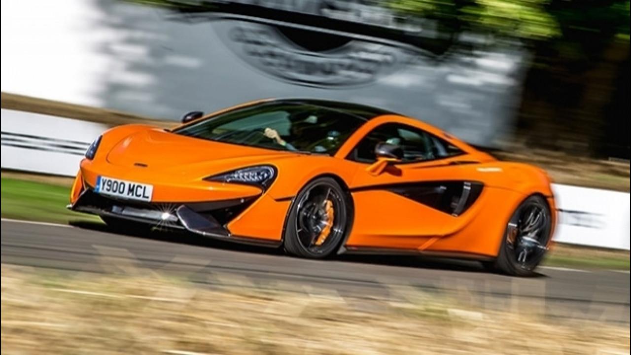 [Copertina] - McLaren a Goodwood, una leggenda vissuta velocemente