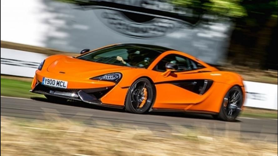 McLaren a Goodwood, una leggenda vissuta velocemente