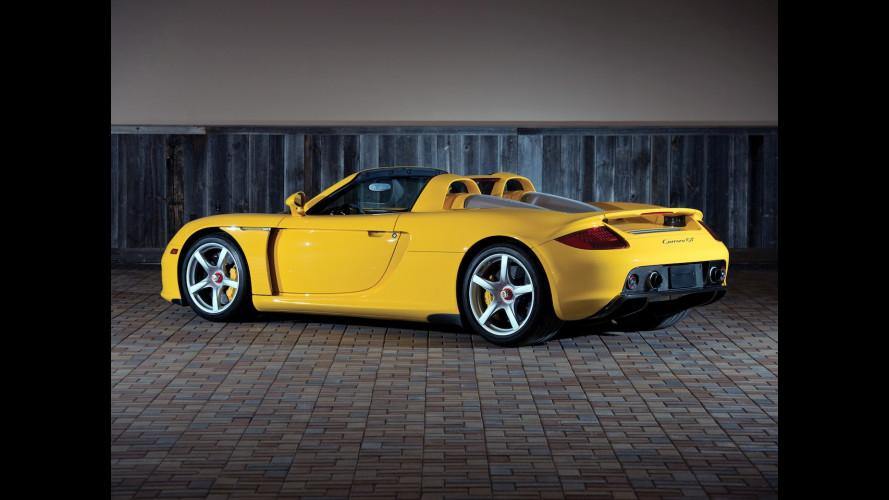 Porsche Carrera GT, meraviglia meccanica