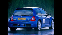 Renault Clio V6, le foto storiche