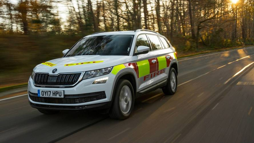 Skoda unveils emergency Kodiaq you can't buy