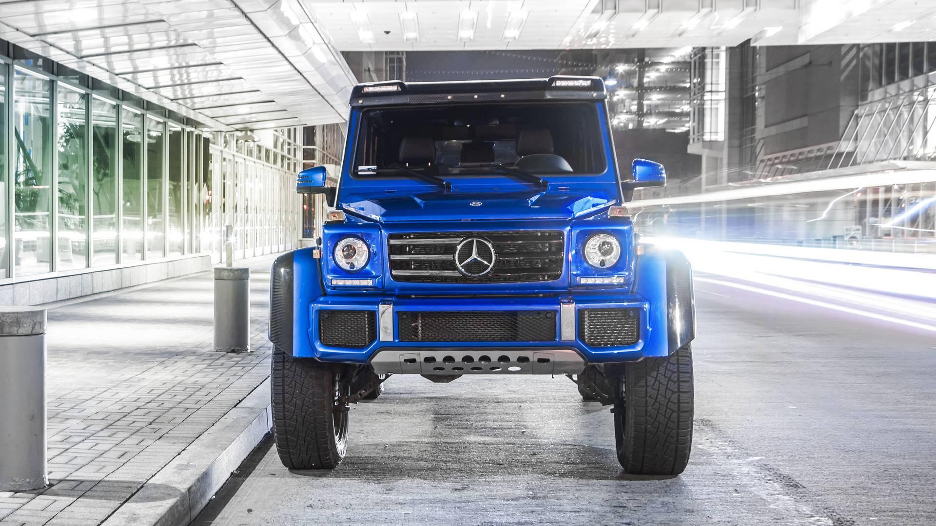 2017 Mercedes-Benz G550 4x4² Review: Size Queen