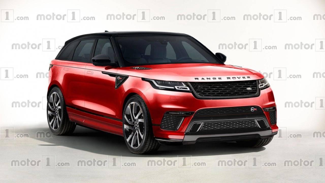 2018 Range Rover Velar SVR
