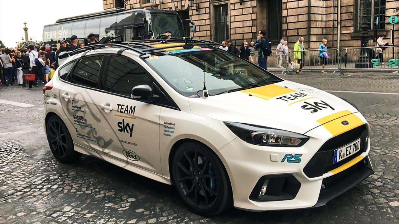 [Copertina] - Ford Focus RS Track Edition, in giallo per celebrare il Tour de France