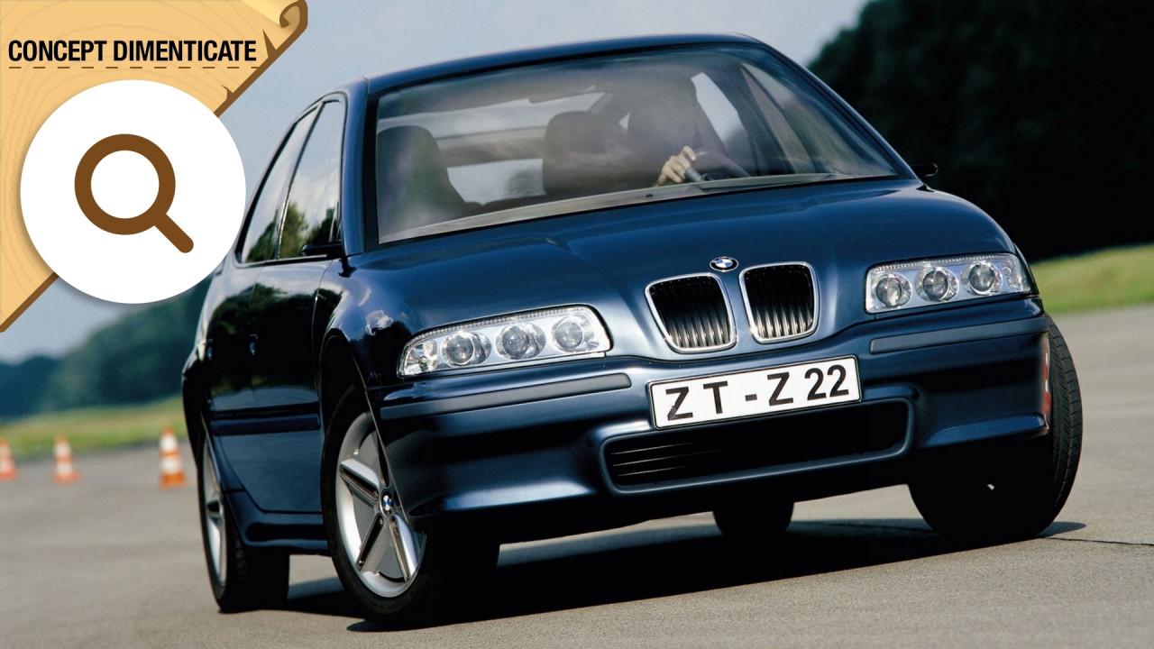 [Copertina] - BMW Z22 concept, dimensioni da Serie 3, spazio da Serie 7