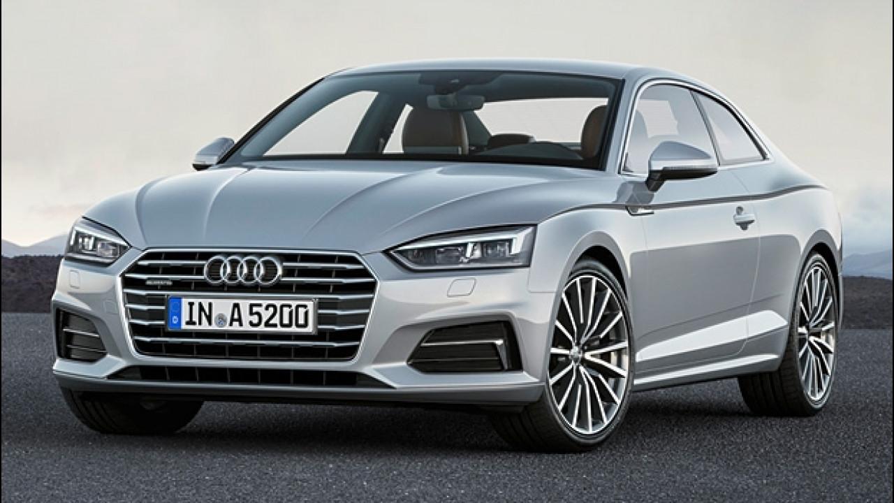[Copertina] - Nuova Audi A5 Coupé, la sportività elegante