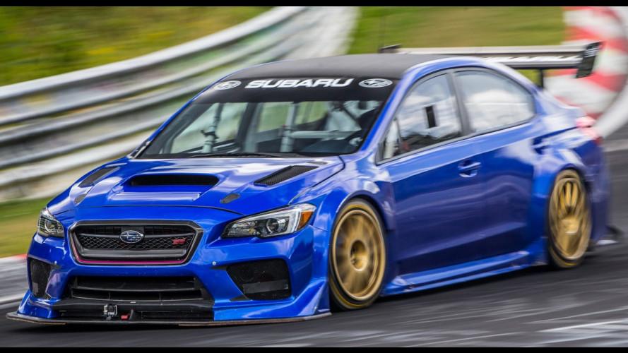 Subaru WRX STI Type RA NBR Special, meno di 7 minuti sul Nürburgring