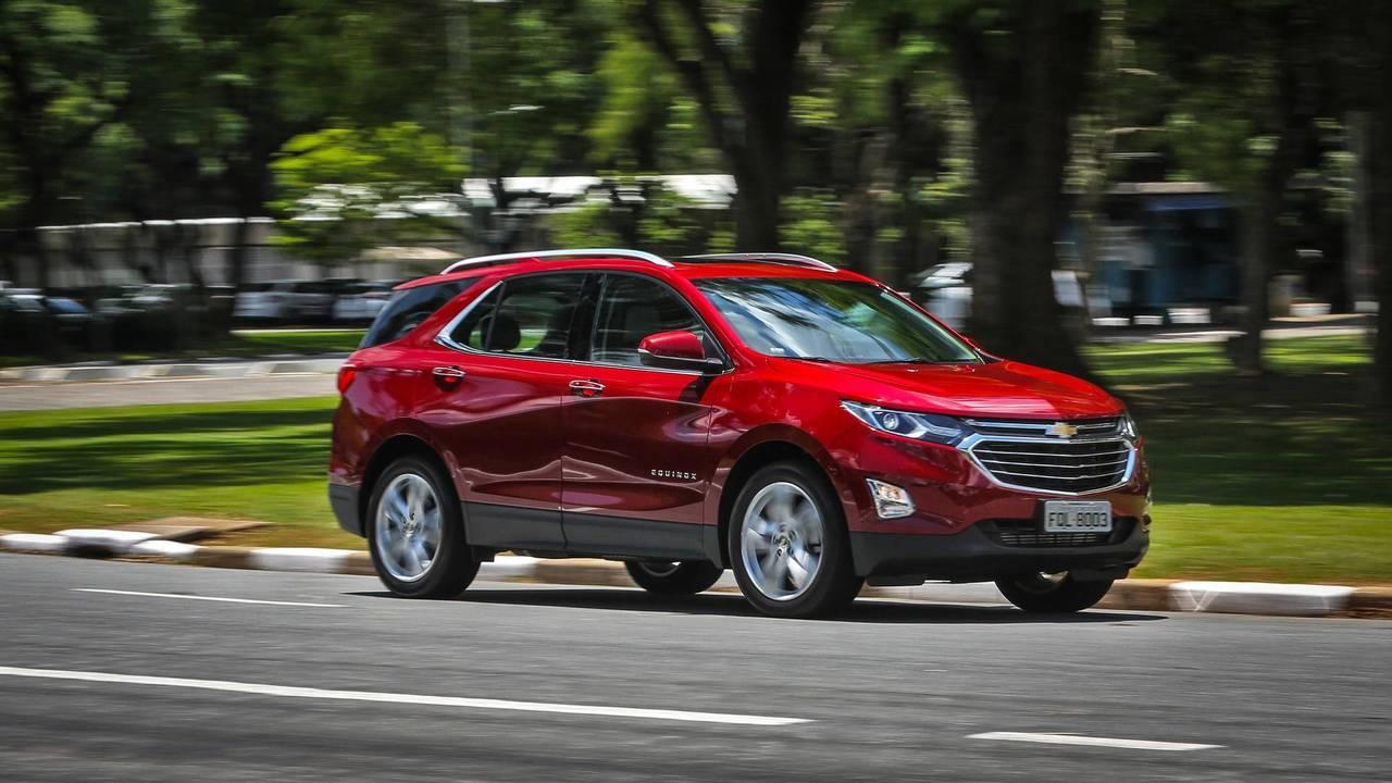 Chevrolet Equinox - 600 unidades por mês