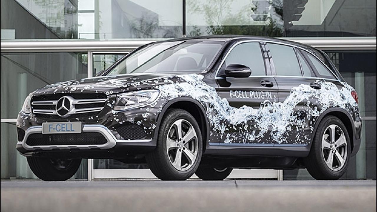 [Copertina] - Mercedes GLC F-Cell, il SUV a idrogeno diventa plug-in