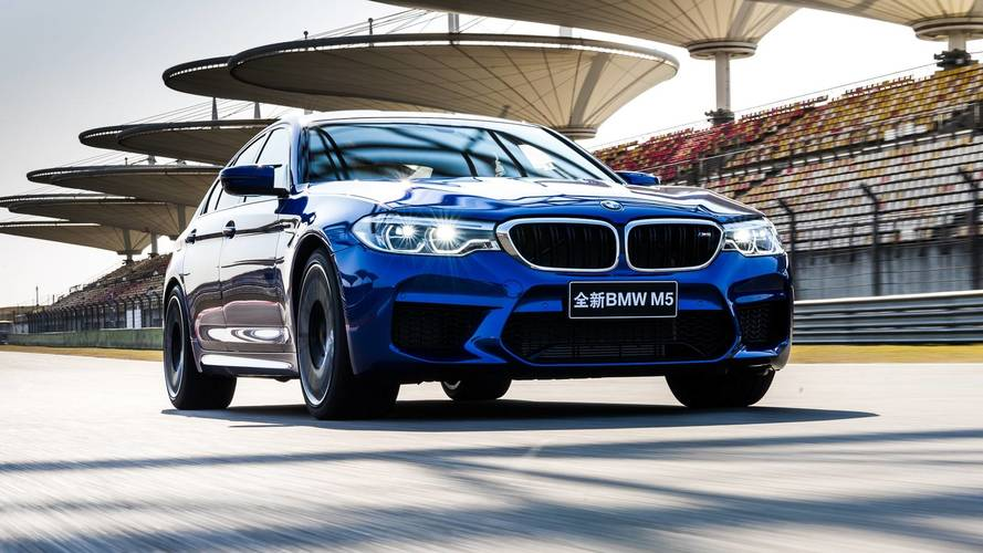 BMW M5 Takes Down Shanghai Circuit Lap Record