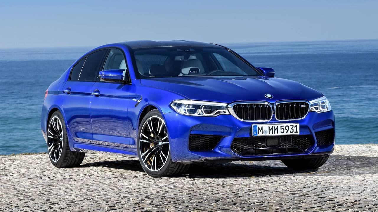 12. 2018 BMW M5 - 1:20.4