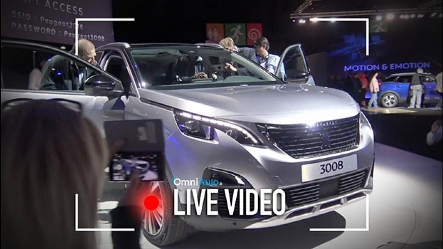 Nuova Peugeot 3008, così è diventata SUV [VIDEO]
