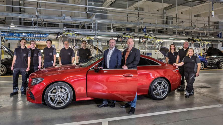 Mercedes E-Sınıfı Coupe üretim