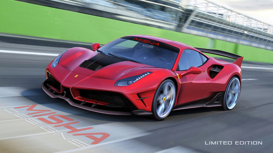 Hardcore Ferrari 488 GTB by tuner is like a mini FXX K