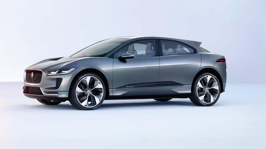 Jaguar Apresenta Seu Primeiro Elétrico, O I Pace, Como Conceito Em Los  Angeles