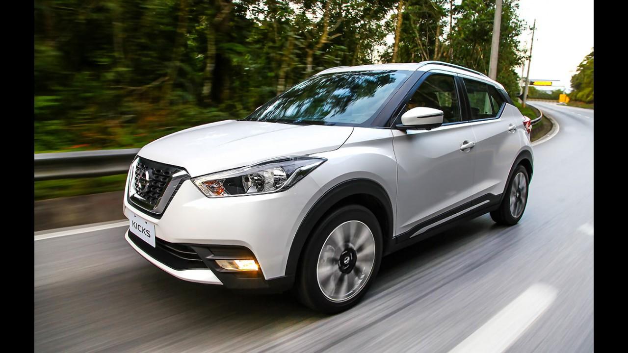 Nissan Kicks: 5 mil unidades emplacadas e produção nacional em março
