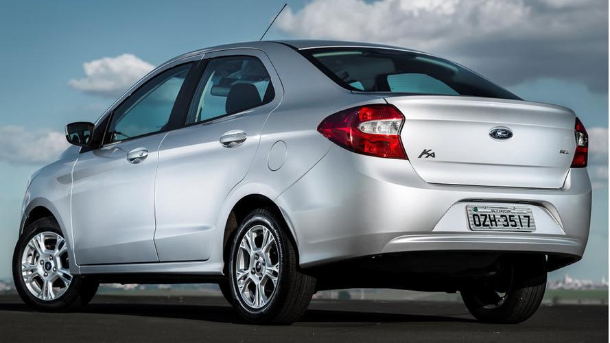 Sedãs pequenos mais vendidos em abril: Ford Ka Sedan assume vice-liderança no acumulado de 2018