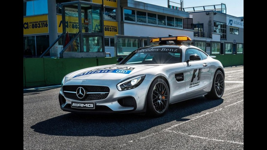 Mercedes-AMG GT é o novo Safety Car da F1