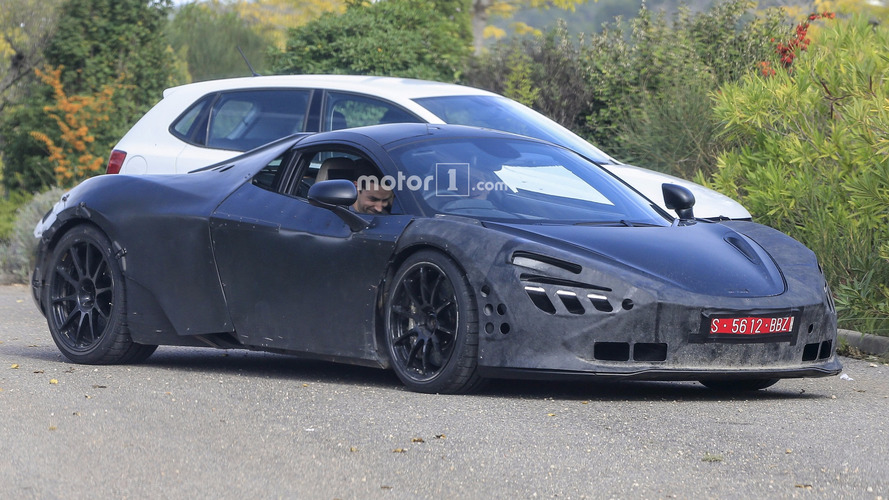McLaren P14 photos espion