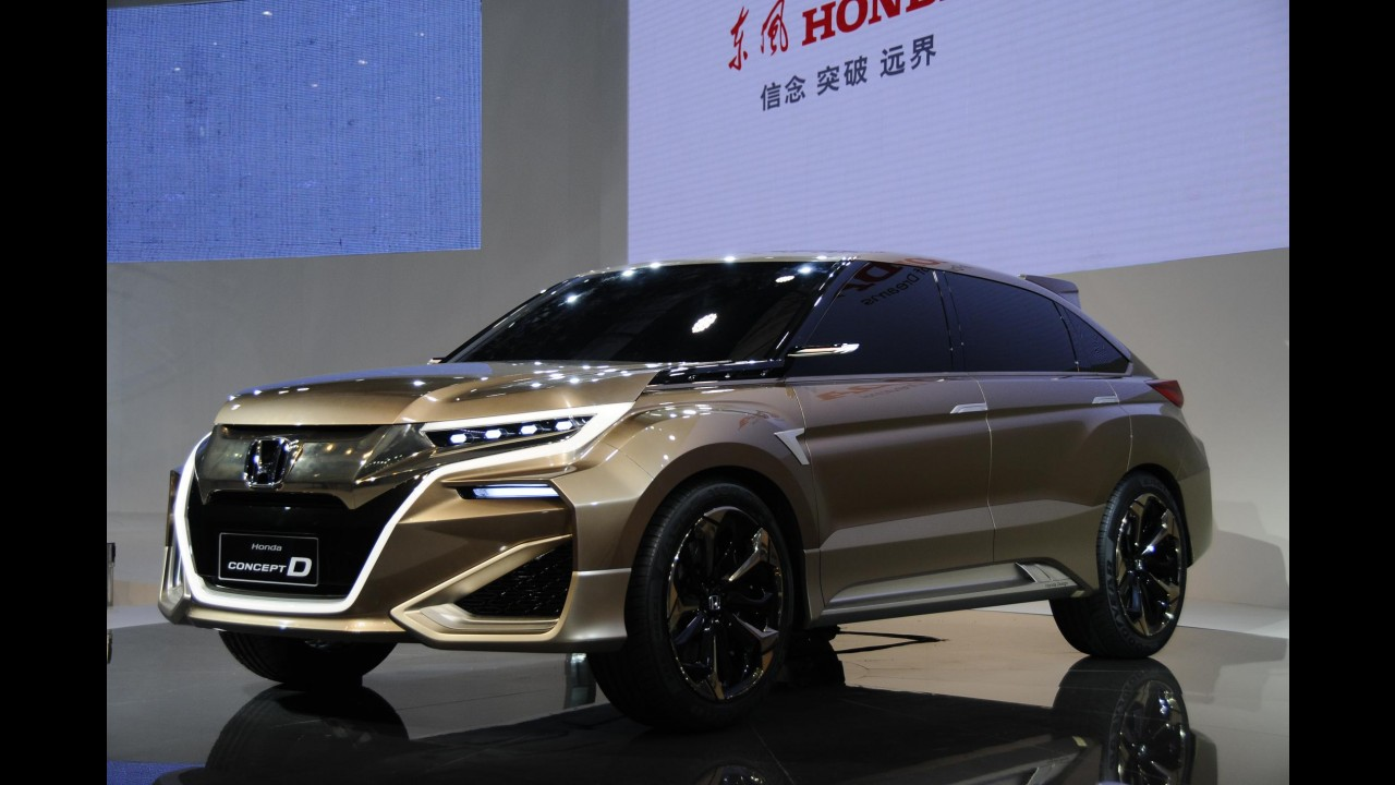 Futuro crossover de topo, Honda UR-V deve ser o nome do Concept D de produção