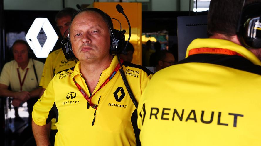 Frédéric Vasseur quitte la direction de l'équipe Renault F1