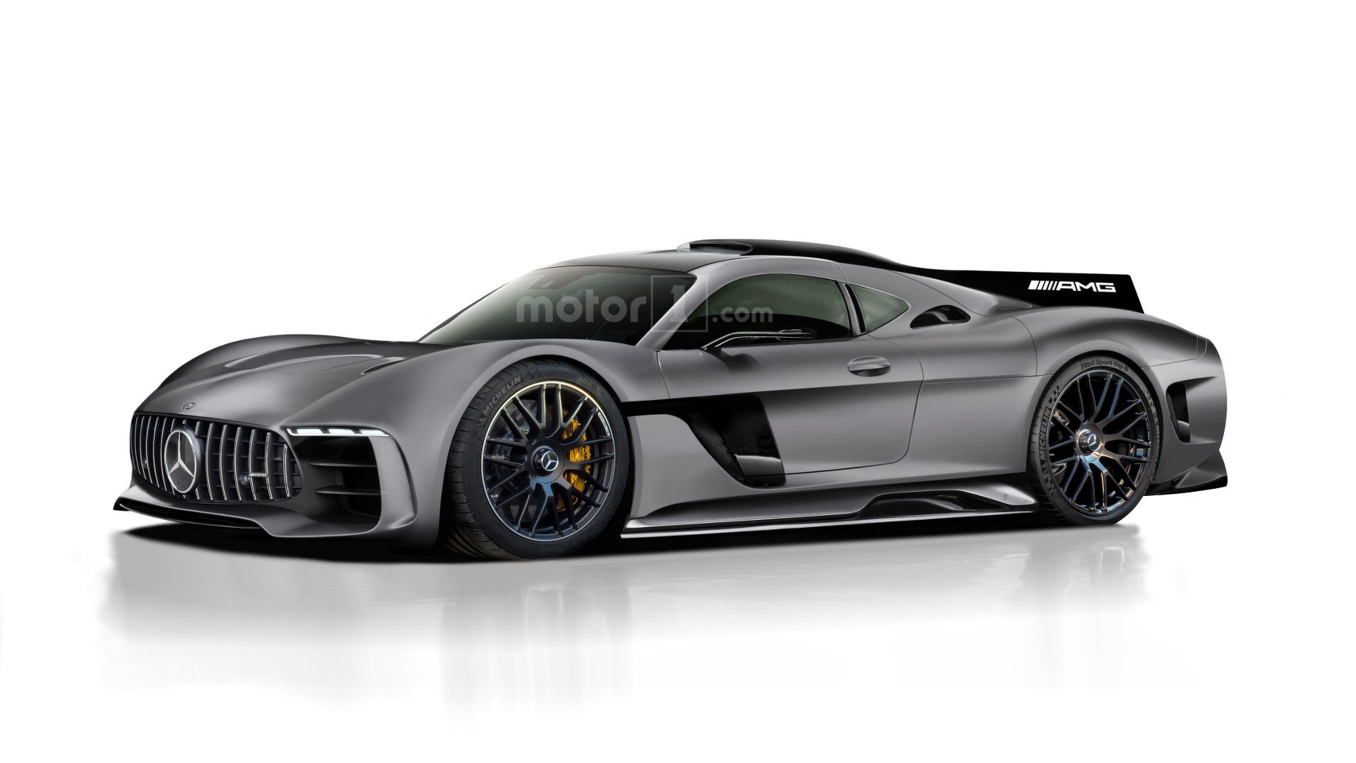 Mercedes Amg Project One Rendered As Jaw Dropping Halo Hypercar