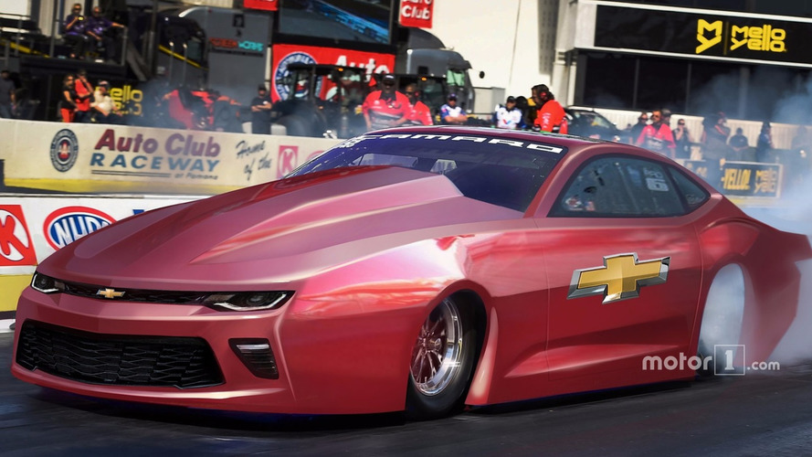 New Pro Stock Chevrolet Camaro SS