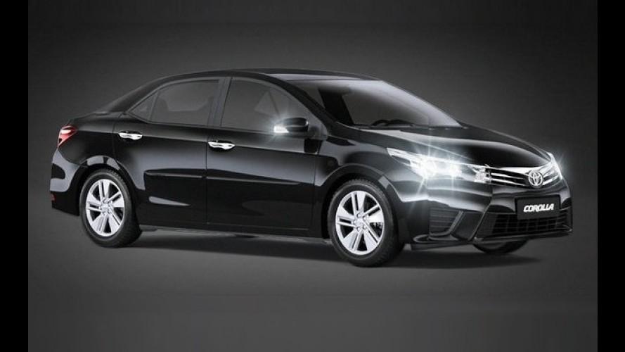 Toyota Corolla chega à linha 2017 com pacote Black Pack por R$ 83.720
