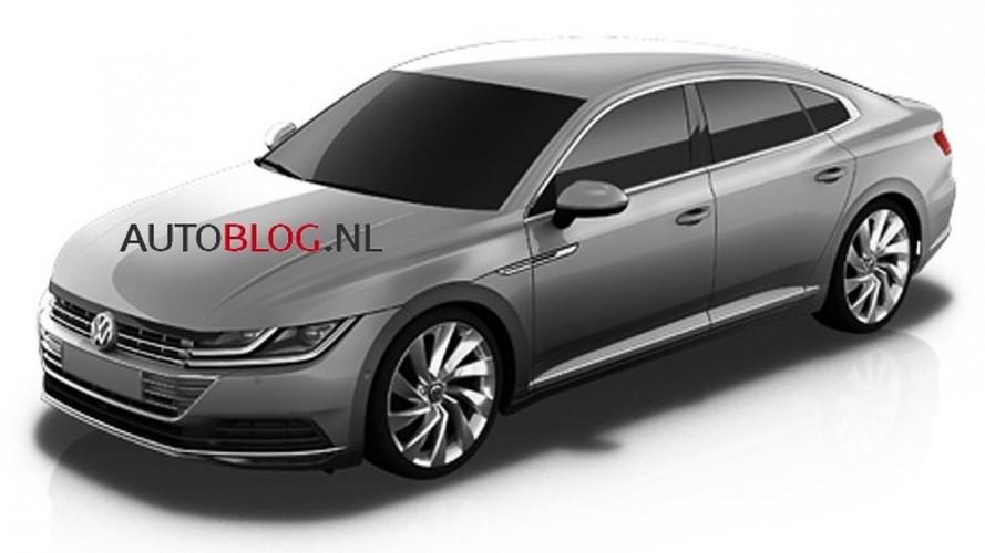 Vazou! Estas são as primeiras imagens do Volkswagen CC de nova geração