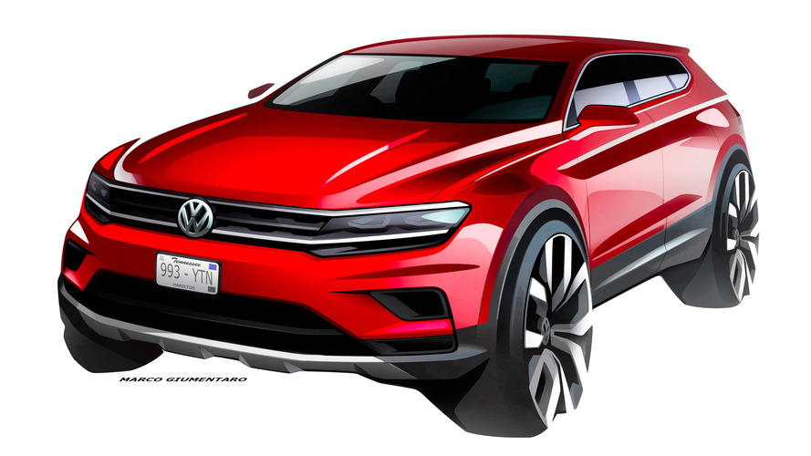 Le Volkswagen Tiguan Allspace en route pour Détroit !