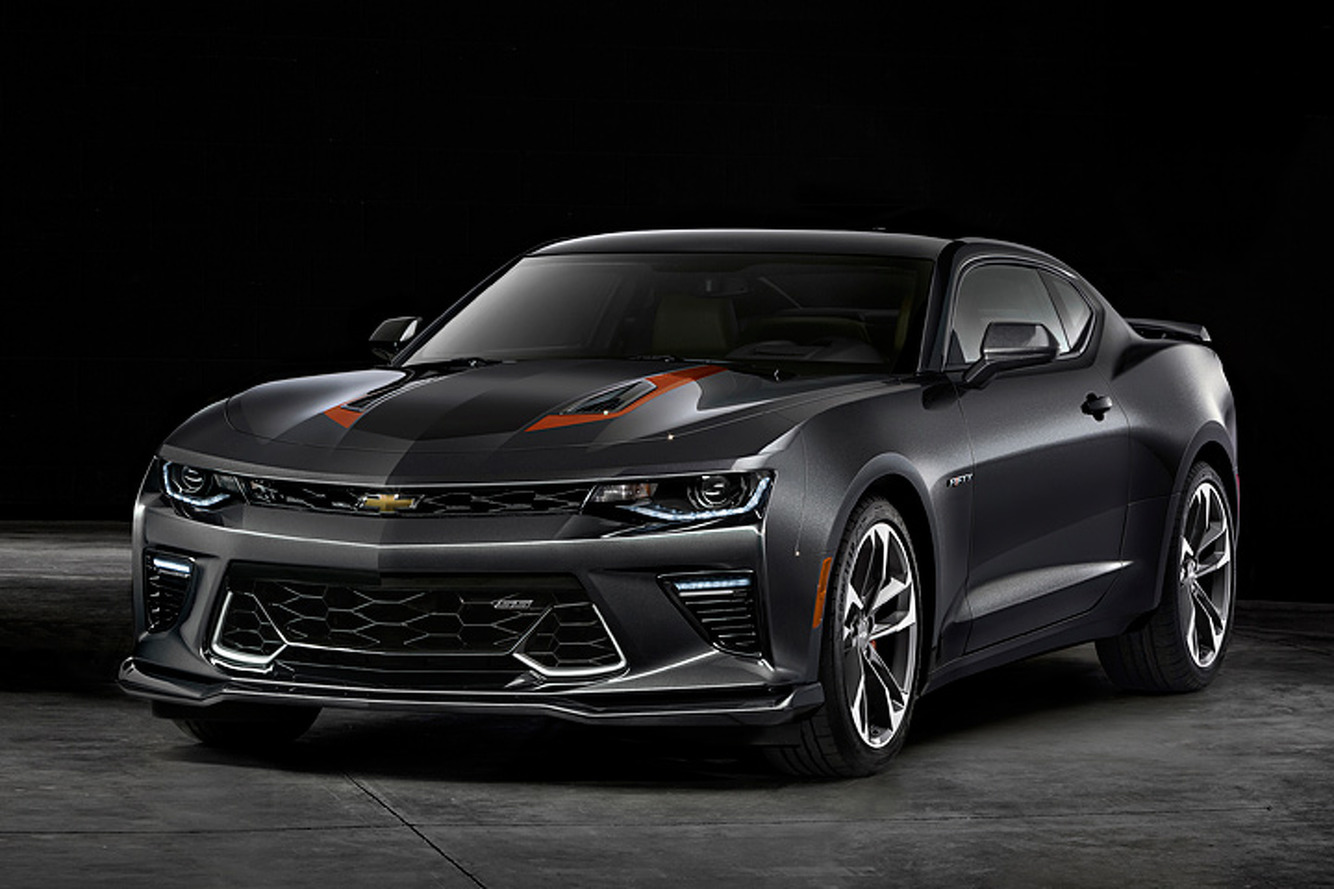 The 2017 Chevrolet Camaro Dresses Up to Celebrate 50 Years