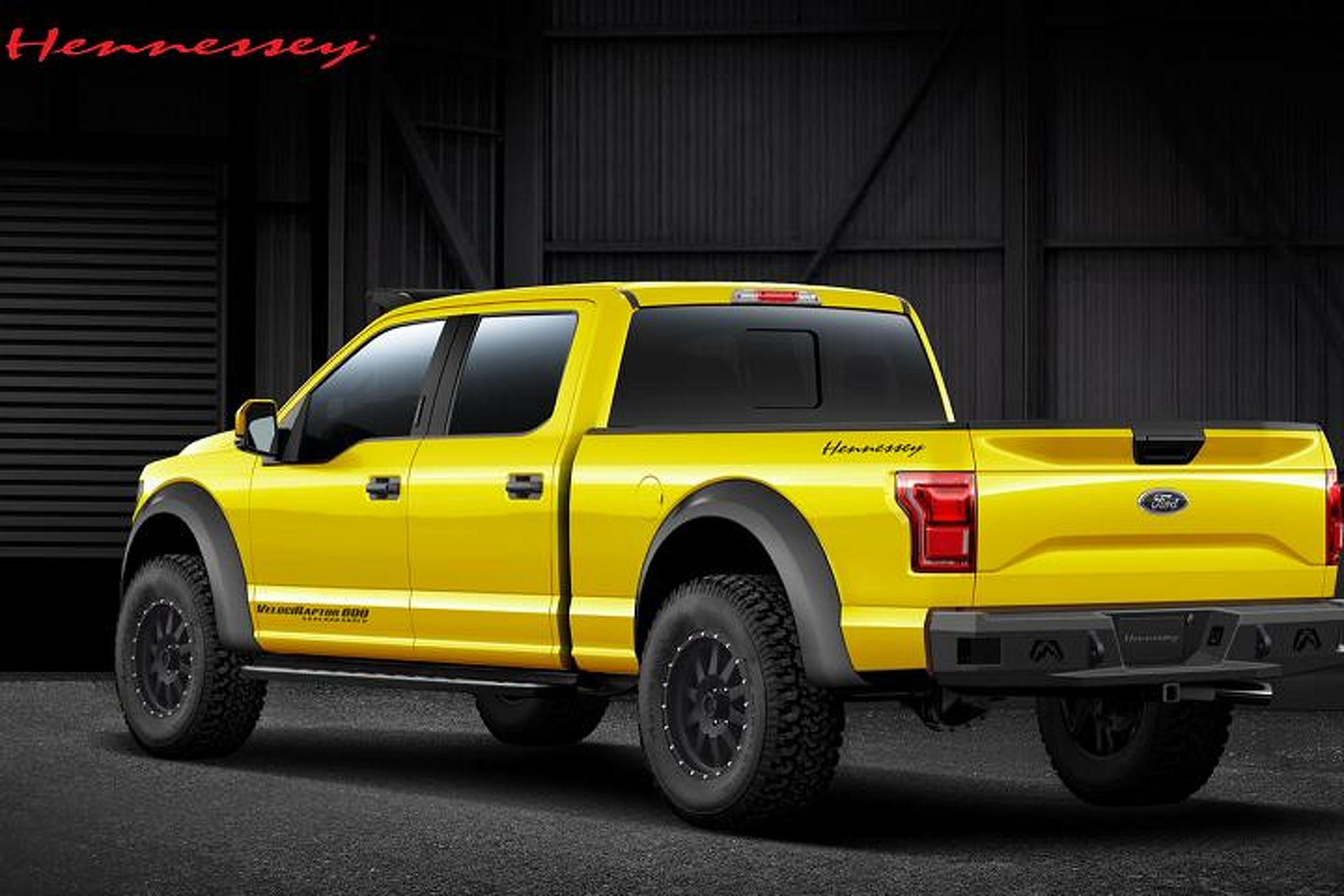 Hennessey Ford F-150 VelociRaptor is Ready to Strike