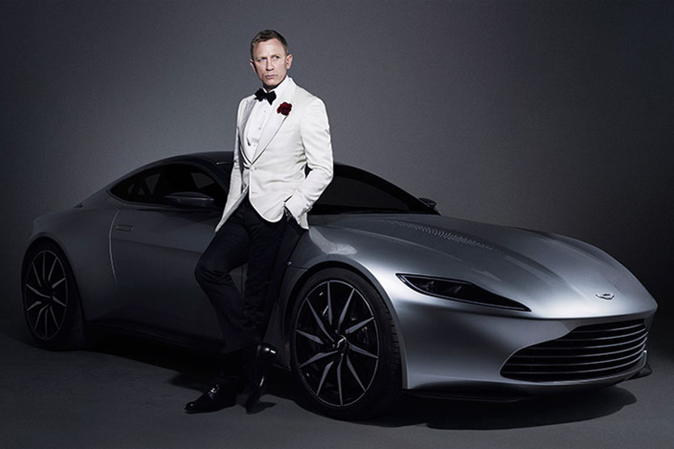 Aston Martin DB10 &  Jaguar C-X75 square off in new SPECTRE promo [video]